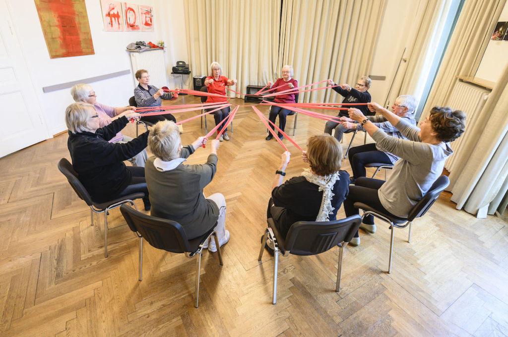 Gymnastik auf dem Stuhl (Di 10 – 11 Uhr)